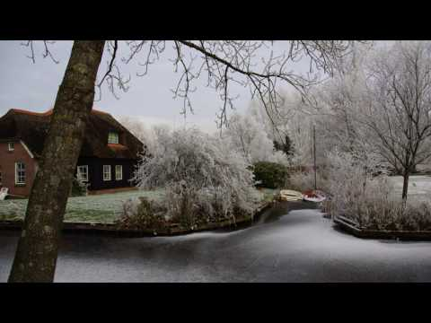 Winter Rime - Giethoorn (Netherlands), The Venice of the North