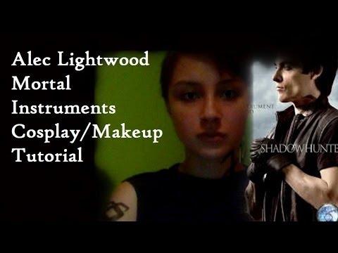 The Mortal Instruments Alec Lightwood Cosplay/Makeup Tutorial
