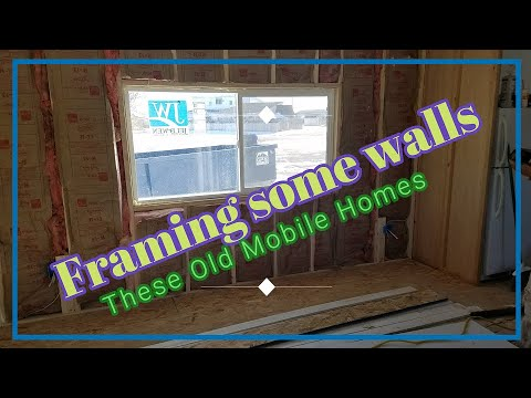 How To Frame Most Mobile Home Walls