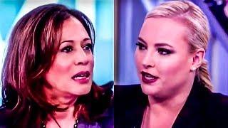 Airhead Meghan McCain Grills Kamala Harris On Socialism