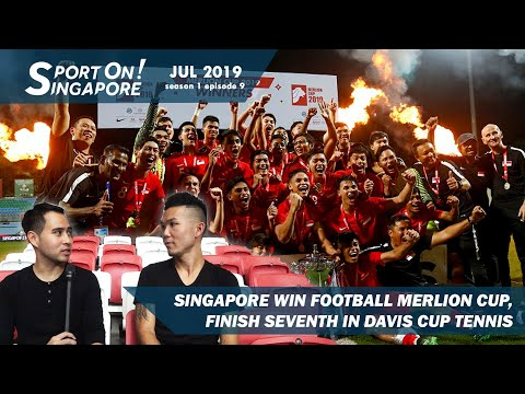 Singapore win football Merlion Cup, finish 7th in Davis Cup Tennis | Sport On! Singapore [s1 ep9]