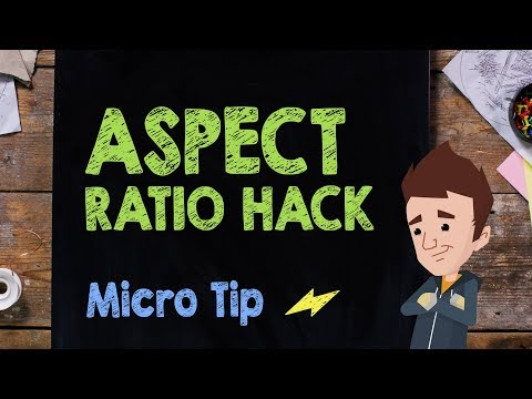 Aspect Ratio Hack: Micro Tip #17 - Supercharged