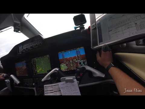Localizer Instrument Approach David Wayne Hooks Houston DWH Phenom 300