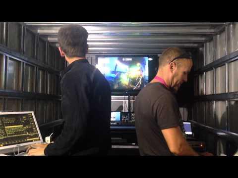 Incognito sound engineering at Colour Festival 2013 Cape Town.