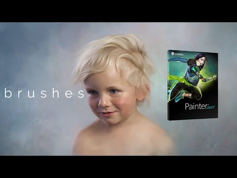 """Say Hi to Heather The Painter's NEW Corel Painter 2017 """"Everyday"""" Brush Pack"""