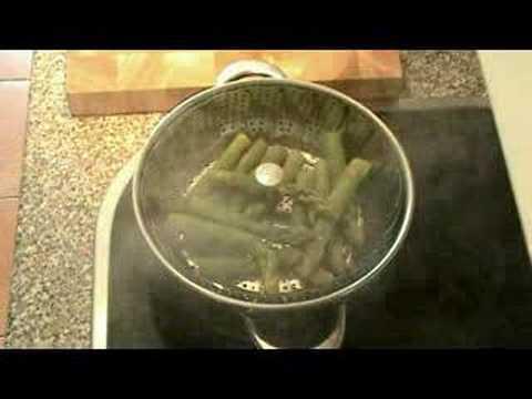 Cocinar para los amigos esp rragos youtube for Cocinar esparragos