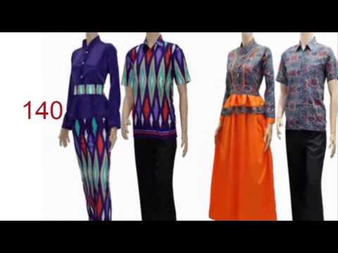model blouse terbaru  setelan baju batik cantik  YouTube