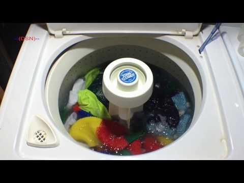 Magic Chef 20 pound washing machine - Medium load, with fabric softener dispenser
