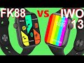 - Comparision: KIWITIME IWO 13 VS FK88 Smartwatch-Which one is Better?
