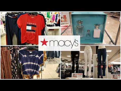 MACY'S Clothing BEAUTY * SHOP WITH ME * STORE WALK - THROUGH JULY 2019