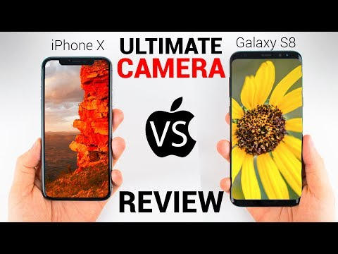 iPhone X vs Galaxy S8 - CAMERA REVIEW