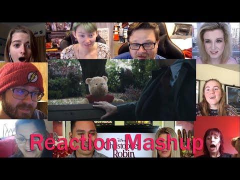 Christopher Robin Official Teaser Trailer REACTION MASHUP
