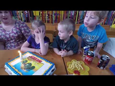 Brennen's 4th Birthday Party