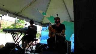 Tom Hamilton & Aron Magner Acoustic (middle of the set) @ Catskill Chill 2014