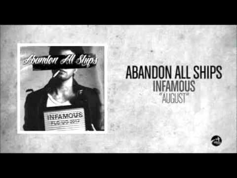 Abandon All Ships - August (KARAOKE solo Base)
