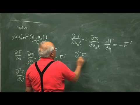 Strings-wave equation-solutions-energy current