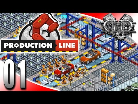 Production Line Gameplay : Alpha : Create a Car Company! (HD Let's Play Construction)