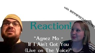 Reaction! w/ WinnifredArtemis | Agnez Mo - If I Ain