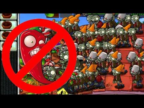 Column like u See Em WITHOUT Jalapenos | MINIGAMES | Plants vs Zombies
