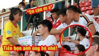 Đình Trọng, Văn Đức bất ngờ quyên góp tiền ủng hộ CĐV Nam Định xấu số   Ted Trần TV