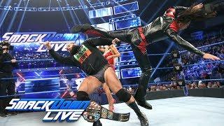 Shinsuke Nakamura ruins Rusev's celebration: SmackDown LIVE, Jan. 1, 2019