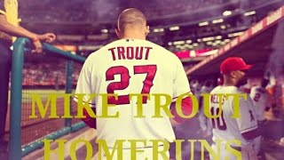 Mike Trout- All 36 Homeruns in 2014