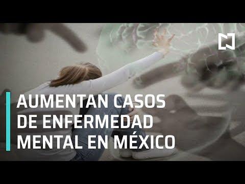Aumentan enfermedades mentales en México - Las Noticias