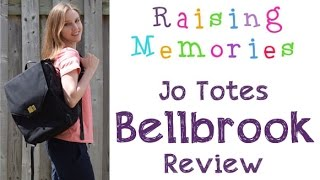Bellbrook Backpack Camera Bag by Jo Totes Review