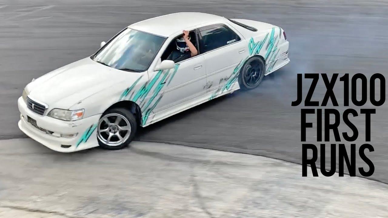 Drifting my JZX100 Cresta Again!!!!