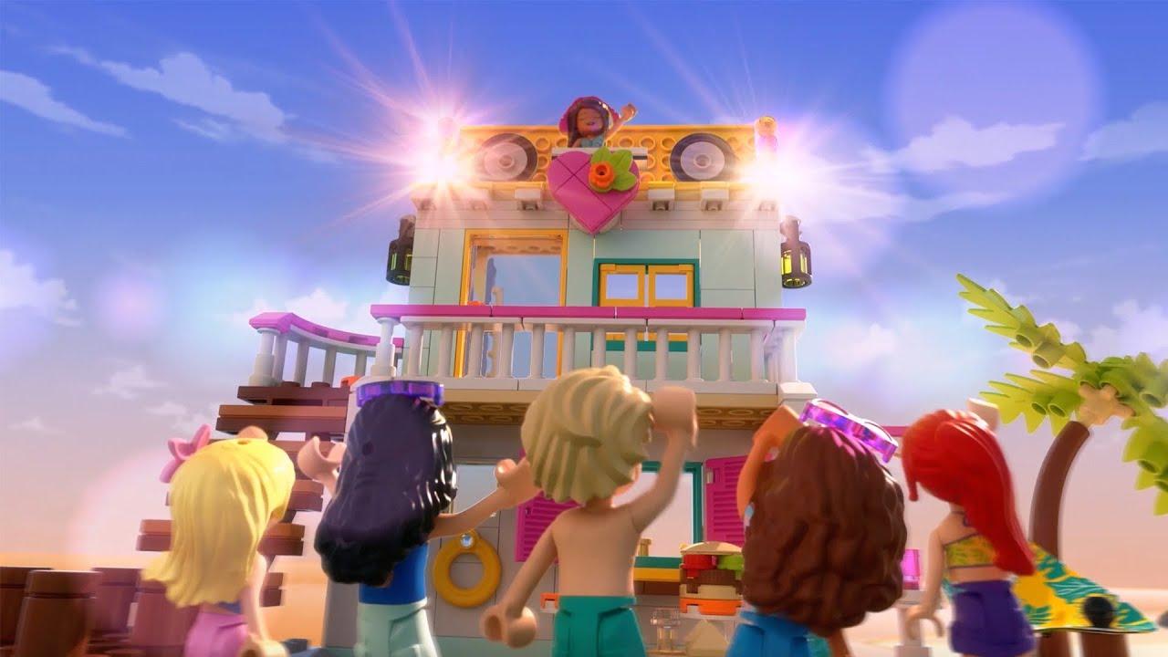 레고 프렌즈 2020 신제품과 여름 휴가를 떠나 보세요! (여름워터파크 & 비치하우스)