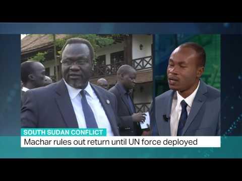 Riek Machar Leaves South Sudan, UN Investigates Peacekeepers.