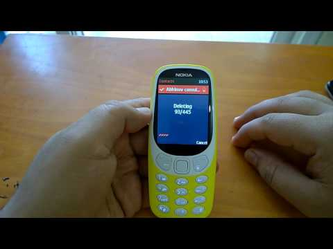 Nokia 3310 (2017): How To Transfer / Copy / Delete Contacts