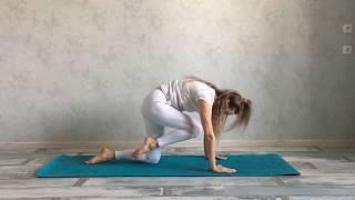 Йога . 7 простых движений,  помогут при защемлении Седалищного нерва. Утренняя / вечерняя Зарядка