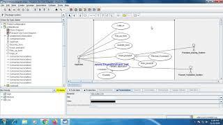 How To Draw The Usecase Diagram In Argouml