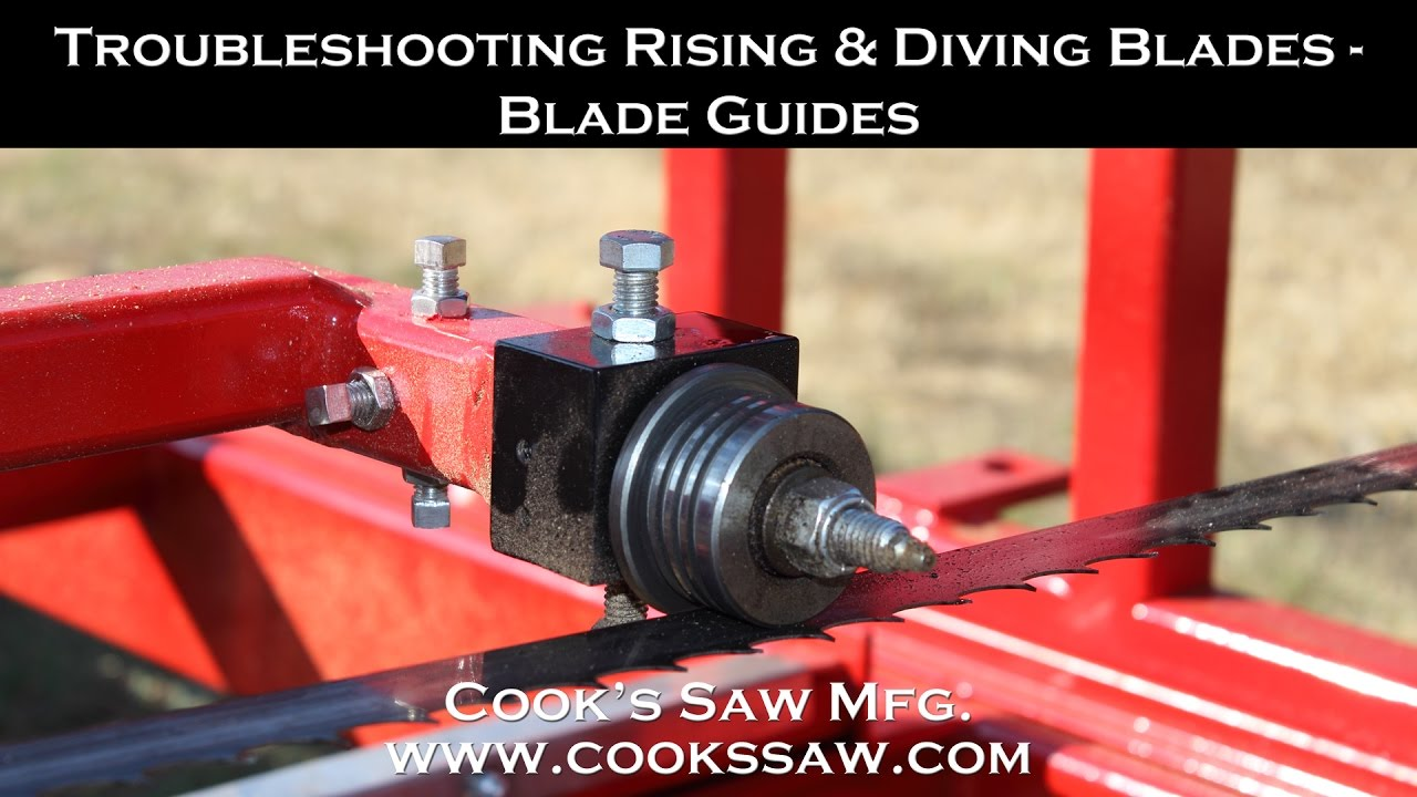 SAW GUIDES BANDSAW BLADE GUIDES FOR SAWMILL BANDSAW MILL BUILD YOUR OWN SAWMILL
