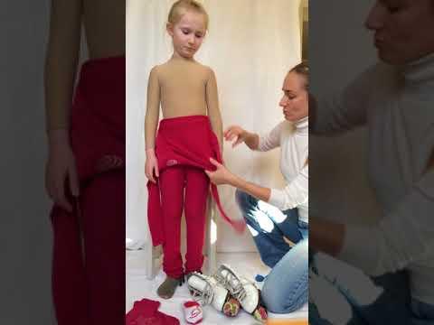 Как одеть ребенка на фигурное катание