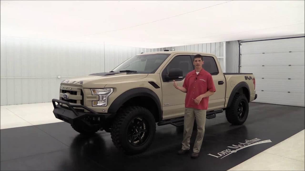 Off Road Bumpers F150 >> 2016 Ford F-150 Baja Off Road Truck - YouTube