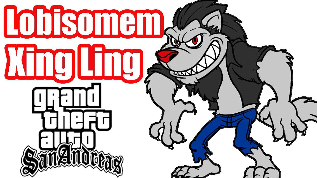 LOBISOMEM XING LING DA FAZENDA MOD - GTA SAN ANDREAS