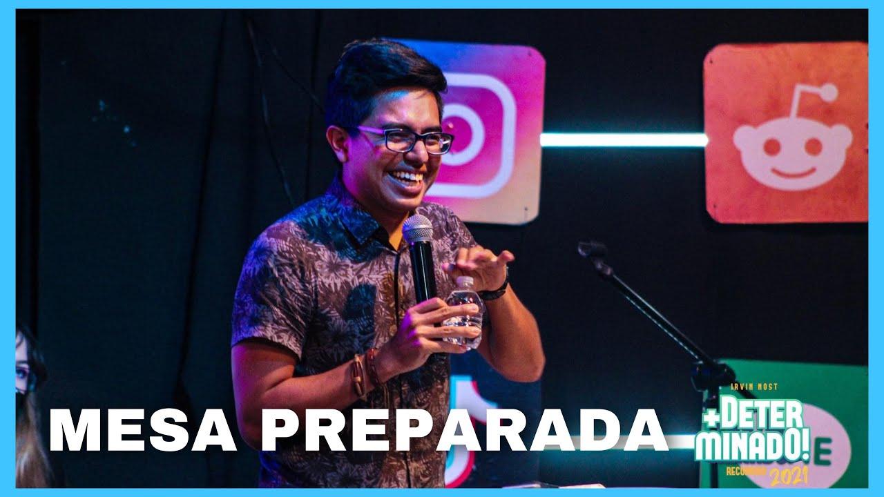 Mesa preparada - Irvin Nost / Iglesia Cristiana Grupo Vida Nueva /  Coacalco EDO. MEX.
