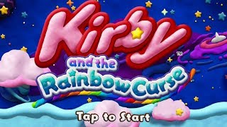 Kirby and the Rainbow Curse Longplay Nintendo Wii U