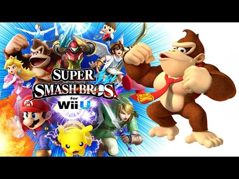 Jungle Hijinx (DK Country Returns) - Super Smash Bros. Wii U