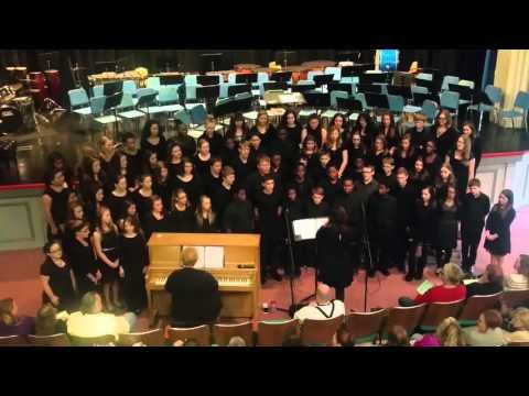 2015 Murphysboro Middle School choir