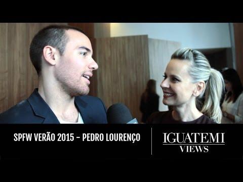 SPFW Verão 2015 - Pedro Lourenço : Iguatemi Views