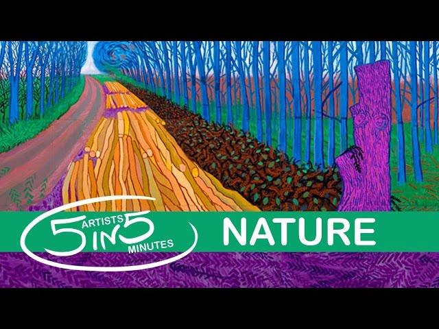 NATURE | 5 Artists in 5 Minutes | LittleArtTalks