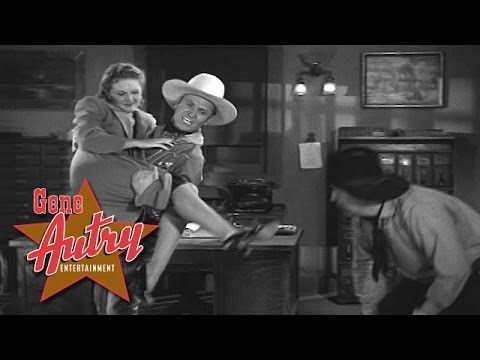 Gene Autry & Smiley Burnette - Seven Years with the Wrong Woman (Colorado Sunset 1939)