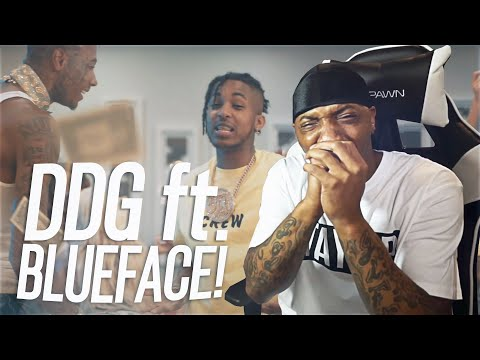 THEY SAID DATS TUFF LOL! | DDG – Moonwalking in Calabasas Remix (feat. Blueface)