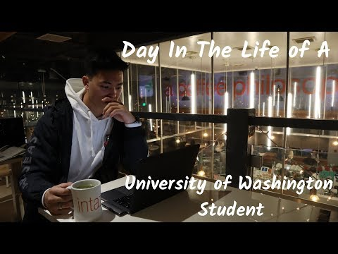 Day In My Life At The University Of Washington