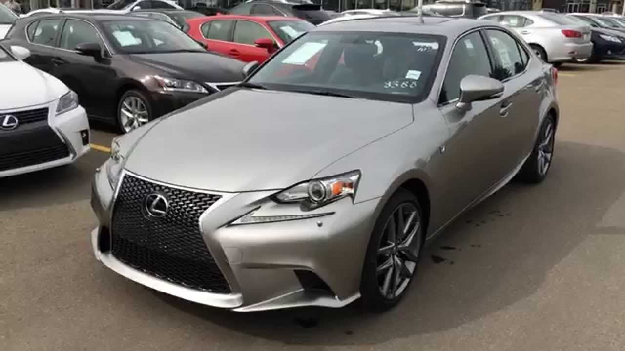 new atomic silver on black 2015 lexus is 250 awd f sport series 3 review alberta canada. Black Bedroom Furniture Sets. Home Design Ideas
