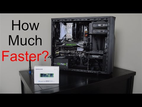 How much faster is an M.2 SSD vs HDD?