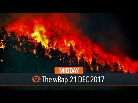 Hurricanes, heat waves, fires ravaged planet in 2017